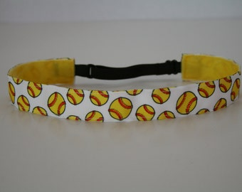 Softballs Non-Slip Adjustable Headband