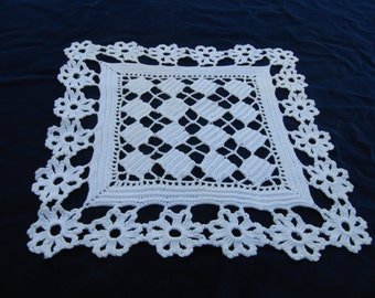 White Crotcheted Doily