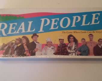 Real People 1991 Parker Bros Board Game Factory Sealed