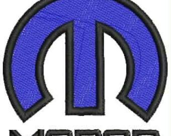 Mopar Embroidery Design