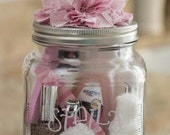Aromatherapy Gifts in a Jar Recipies
