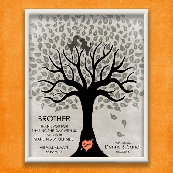 Wedding Gift Ideas For Brother In Law : ... Bride Or Groom Gift Groomsmen Gift For Brother In Law Wedding Gift