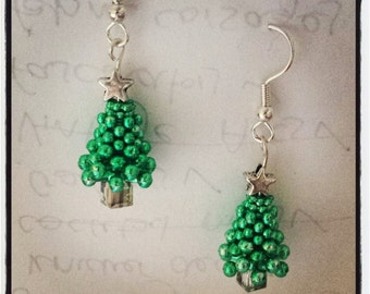 Christmas Tree Earring Craft Kit
