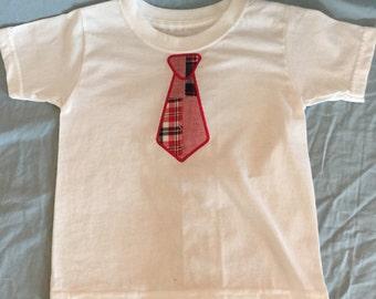 Infant / Toddler Tie Applique Shirt