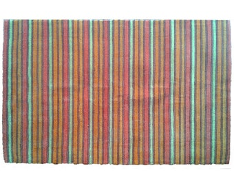 "Wool Rug ""Arcoiris"""