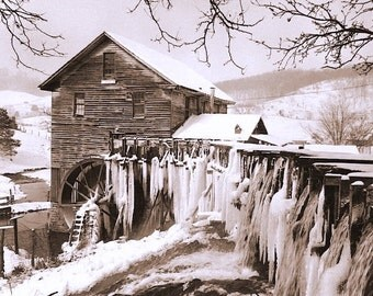 Winter at White's Mill