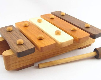 Childrens Wooden Musical Toy