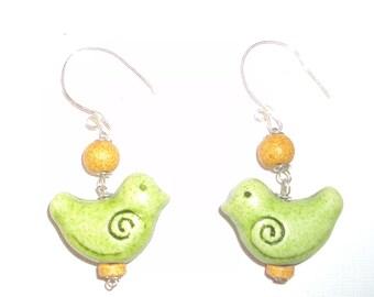Koutouloufari green little birds