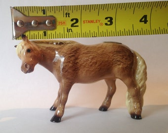 Hagen Renaker Specialty Shetland Pony horse WITHOUT Girl!