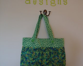 Green Butterfly purse