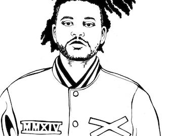 The Weeknd Print