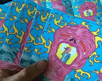 Cherry bomb stickers