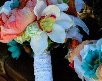Bridal Bouquet Set of 5