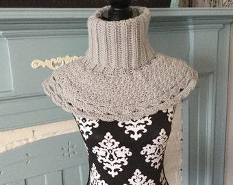 Crochet Cowl-Caplet-Neckwarmer