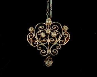 Art Noveau Pin/pendant