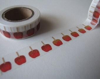 SALE Caramel Apple Washi Tape