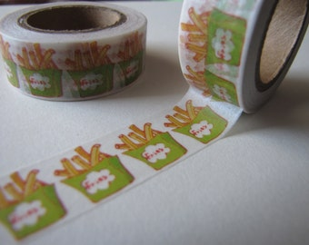French Fry Washi Tape