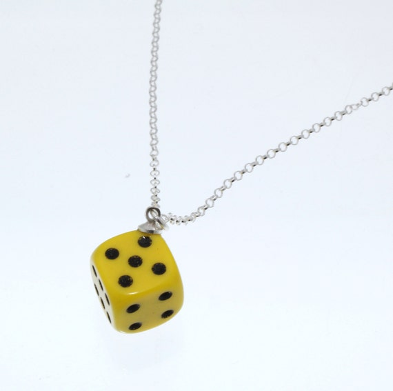 probability of rolling 3 dices pendants and charms
