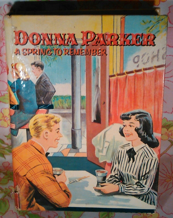 Donna Parker a Spring to Remember - Marcia Martin - Sari - 1960 - Vintage Teen Book