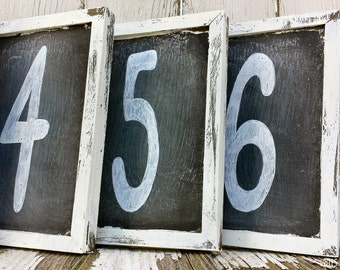 Table Numbers. Chalkboard Sign. Table Centerpiece. Rustic Wedding. Wedding Table Numbers. Wedding Table Decor. Receptions Signs. Vintage.