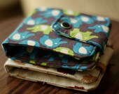 Custom Fabric Wallet | Vegan wallet | Billfold Wallet | Wallet