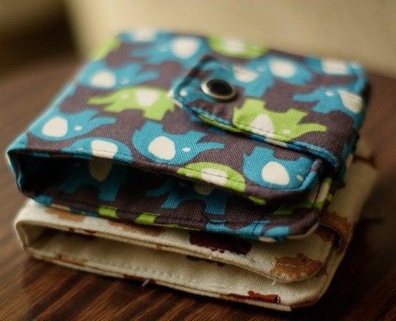 Custom Fabric Wallet | Vegan wallet | Billfold Wallet | Wallet
