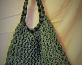 Amazing Stretchy Knitted Carry All - Sage Green