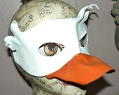 Duck leather mask