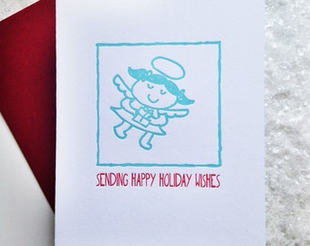 Angel Holiday Wishes