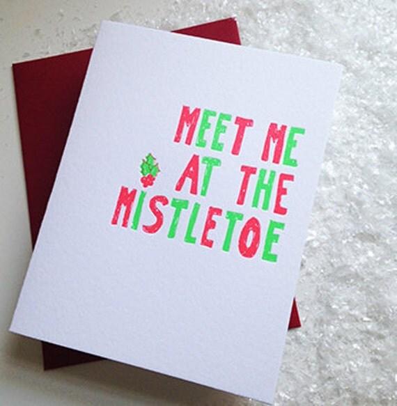 Meet me at the Mistletoe