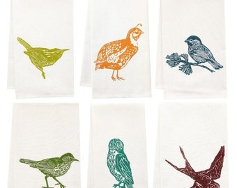 BUILD YOUR OWN six pack of organic tea towels