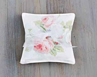 Romantic Floral Lavender Sachets, Shabby Cottage Chic