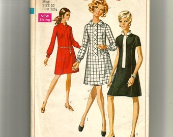 Simplicity  Misses' Dress Pattern 7899