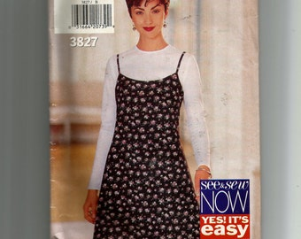 Butterick Misses' Jumper and Top Pattern 3827