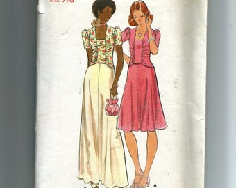 Butterick Young / Teen Top and Skirt Pattern 4220