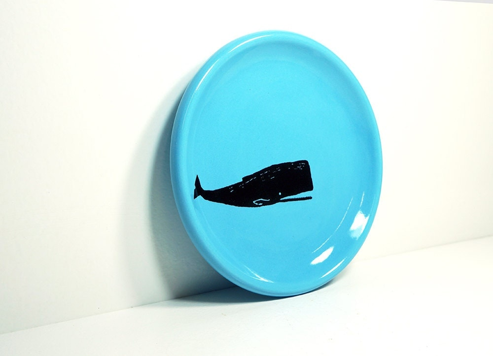 little plate whale - Made to Order / Pick Your Colour