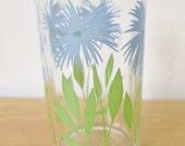 vintage blue cornflower posy swanky swig juice glass