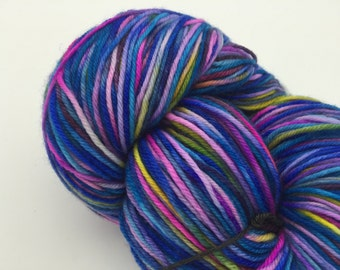 Sock Yarn, Royal Turquoise, 75-25 SW Merino & Nylon