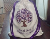 Mazel Tov Groom's Glass Bag