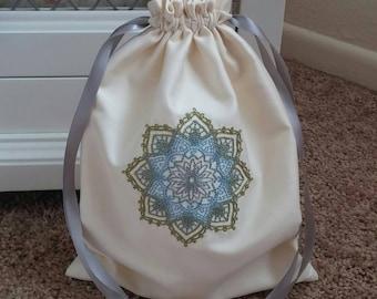 Mazel Tov Groom's Glass Bag