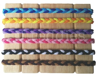 braided elastic headbands // pick your colors, or assorted // stretchy elastic hair bands