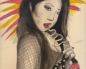 Margaret Cho ART PRINT