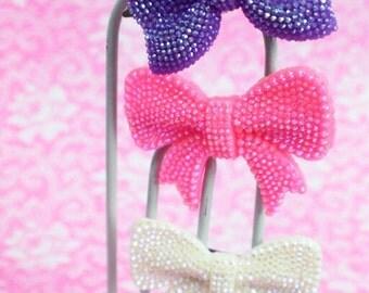 Hair Clip - Various Colors - Bow