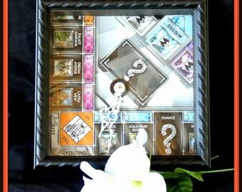 Popular Board Game Clock, Game Board Clock, Monopoly Clock, Graduation Gift, Teen Bedroom Decor, Christmas Gift