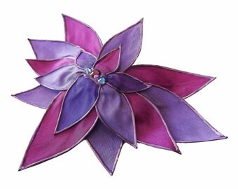 Bejewel Me - a large lotus fascinator