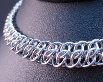 Great Southern Gathering - Chain Maille Necklace - GSG - Classic Weave - Unisex