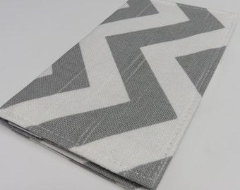 Checkbook Cover - Choose your Chevron - Zig Zag Color