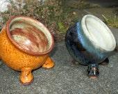 Stoneware Salt Pig