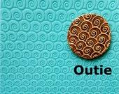 Tx13 Optical Swirls - Outie Texture Mat