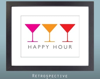 Happy Hour 5x7 Inch Printable